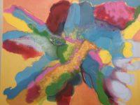"oil pastoil on canvas 37"" x 49"""